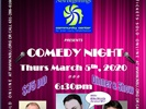 Comedy Night 2020 Fundraiser Thursday March 5th, 2020